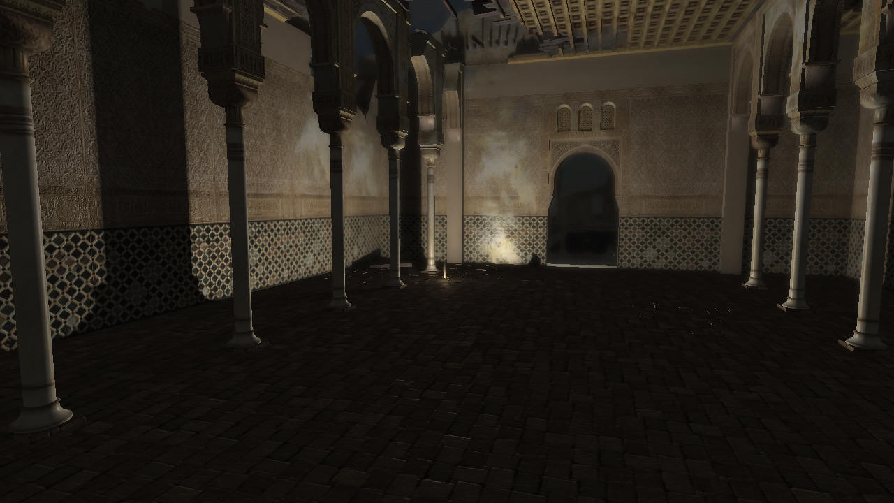 The Alhambra real time rendering demo